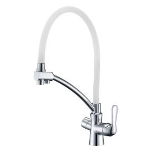 Смеситель Lemark Comfort LM3070C-White для кухни с подключением к фильтру с питьевой водой