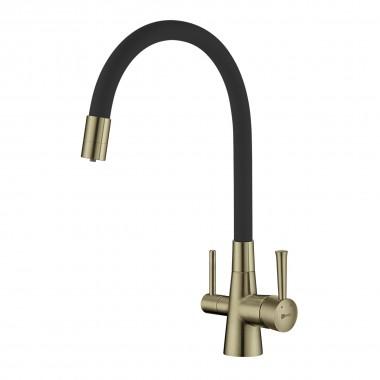 Смеситель Lemark Comfort LM3075B для кухни с подключением к фильтру с питьевой водой