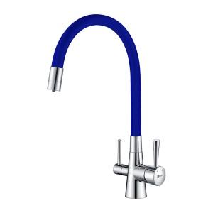 Смеситель Lemark Comfort LM3075C-Blue для кухни с подключением к фильтру с питьевой водой