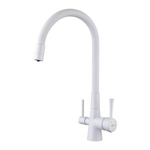 Смеситель Lemark Comfort LM3075W для кухни с подключением к фильтру с питьевой водой