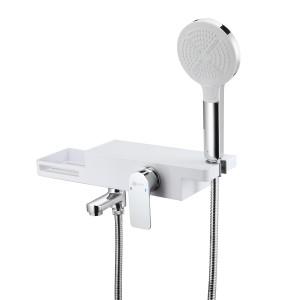 Смеситель для ванны и душа с поворотным изливом Lemark Unibox LM6914C