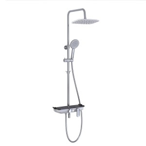 """Смеситель для ванны и душа """"Тропический дождь"""" Lemark Tropic LM7012C"""