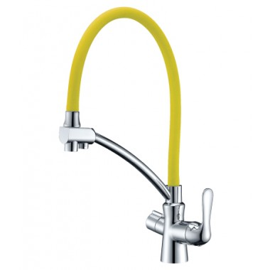 Смеситель для кухни с подключением к фильтру с питьевой водой COMFORT – LM3070C-Yellow