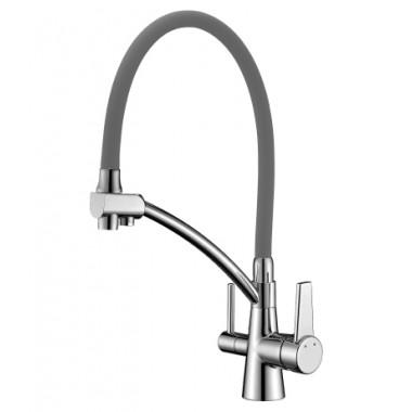 Смеситель для кухни с подключением к фильтру с питьевой водой COMFORT – LM3071C-Gray