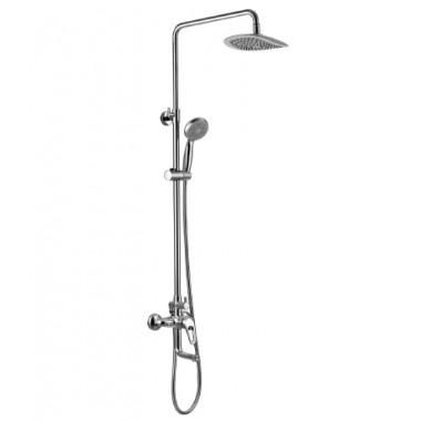 """Смеситель для ванны с лейкой """"Тропический дождь"""" OMEGA – LM3162C"""