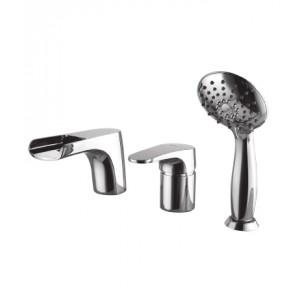 Смеситель для ванны на 3 отверстия SHIFT – LM4345C