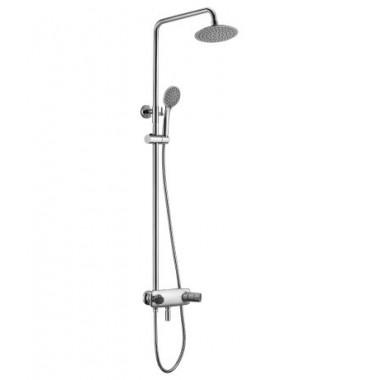 Смеситель для ванны и душа с лейкой «Тропический дождь» WING LM5362C