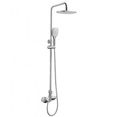 Смеситель для ванны и душа с лейкой «Тропический дождь» BELLARIO LM6862C