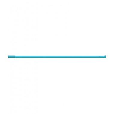 Карниз для штор ванных комнат, прямой, синий – RIA0203