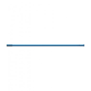 Карниз для штор ванных комнат, прямой, темно-синой – RIA0211
