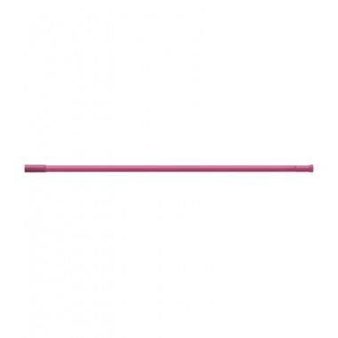 Карниз для штор ванных комнат, прямой, темно-розовый – RIA0212
