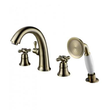Смеситель для ванны на 4 отверстия VINTAGE – LM2841B