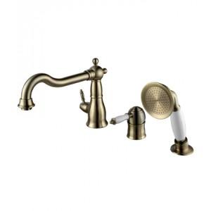 Смеситель для ванны на 3 отверстия с поворотным изливом VILLA – LM4845B