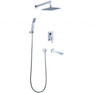 Смеситель для ванны и душа встраиваемый CONTEST - LM5822CW