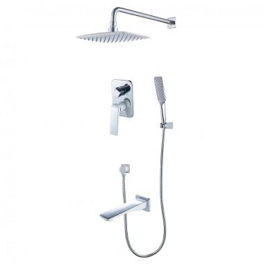 Смеситель для ванны и душа встраиваемый ALLEGRO - LM5922CW