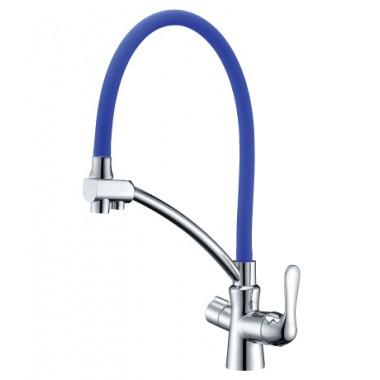 Смеситель для кухни с подключением к фильтру с питьевой водой COMFORT – LM3070C-Blue
