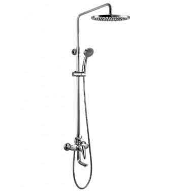 """Смеситель для ванны с изливом и лейкой """"Тропический дождь"""" POSEIDON – LM4262C"""