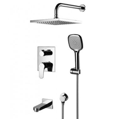 Смеситель для ванны и душа встраиваемый SHIFT – LM4322C