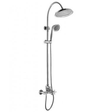 Смеситель для ванны и душа с лейкой «Тропический дождь» DUETTO LM5762C