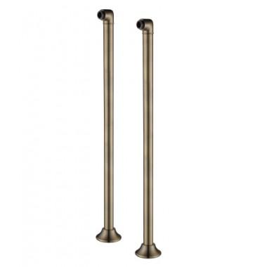 Комплект колонн для напольного подключения смесителя, бронза – LM8565B