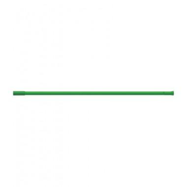 Карниз для штор ванных комнат, прямой, зеленый – RIA0204