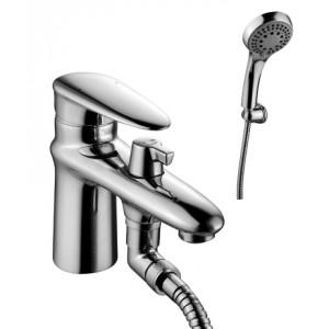 Смеситель на борт ванны с монолитным изливом STATUS – LM4415C