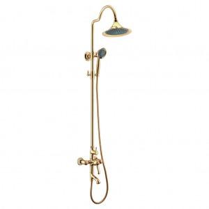Смеситель для ванны и душа «Тропический дождь» GREEK - LM5562GG