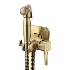 Встраиваемый смеситель с гигиеническим душем SOLO – LM7165B